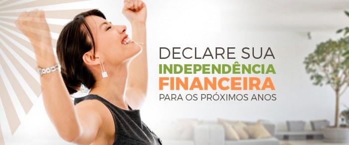 Declare sua Independência Financeira para os próximos anos